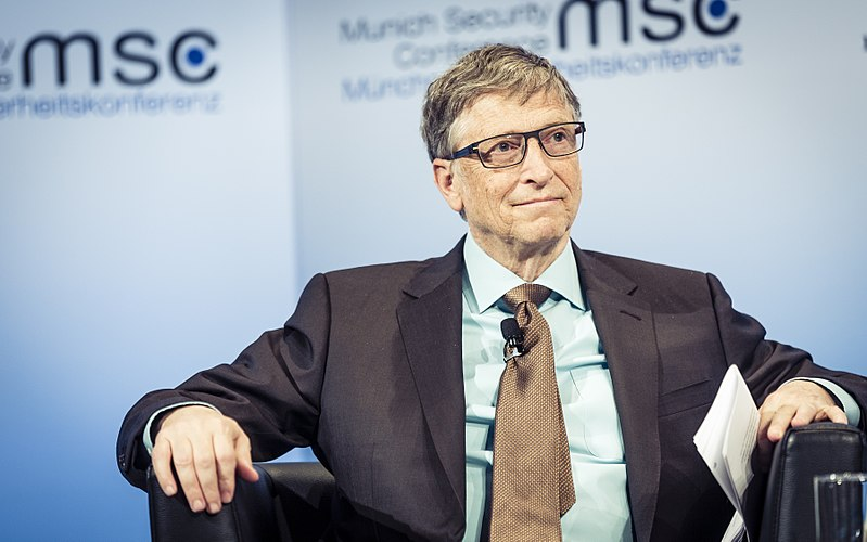 Bill Gates © Wikimedia Commons