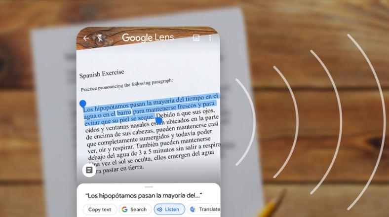 Novi Google Lens bo omogočal tudi hitro prevajanje v več kot sto različnih jezikov. © Google