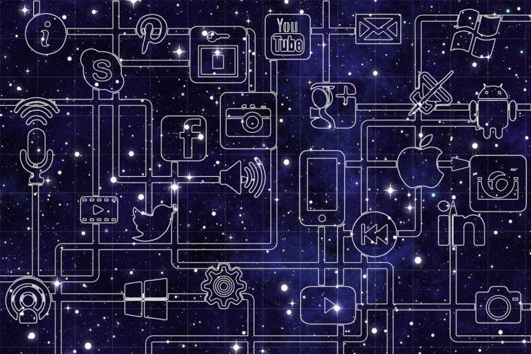 Družbena omrežja svet povezujejo kot še nikoli pred tem. © pixabay/geralt